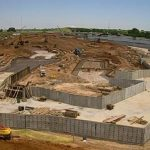 channel construction in Riversport Rapids Whitewater Rafting and Kayak Center