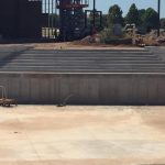 entry steps in channel finished Riversport Rapids Whitewater Rafting and Kayak Center