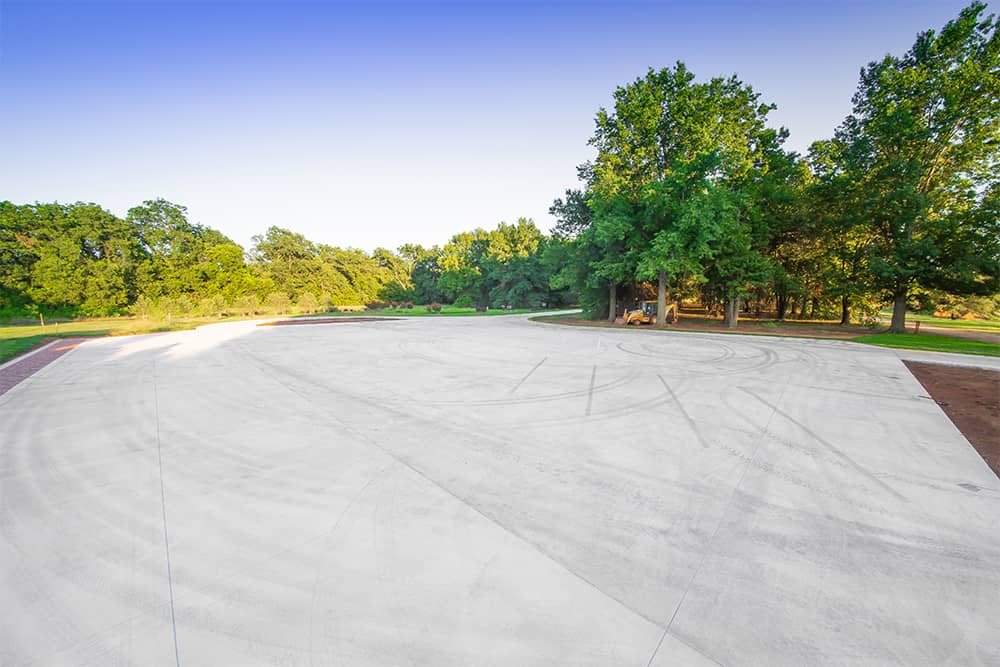 parking space for botanical garden